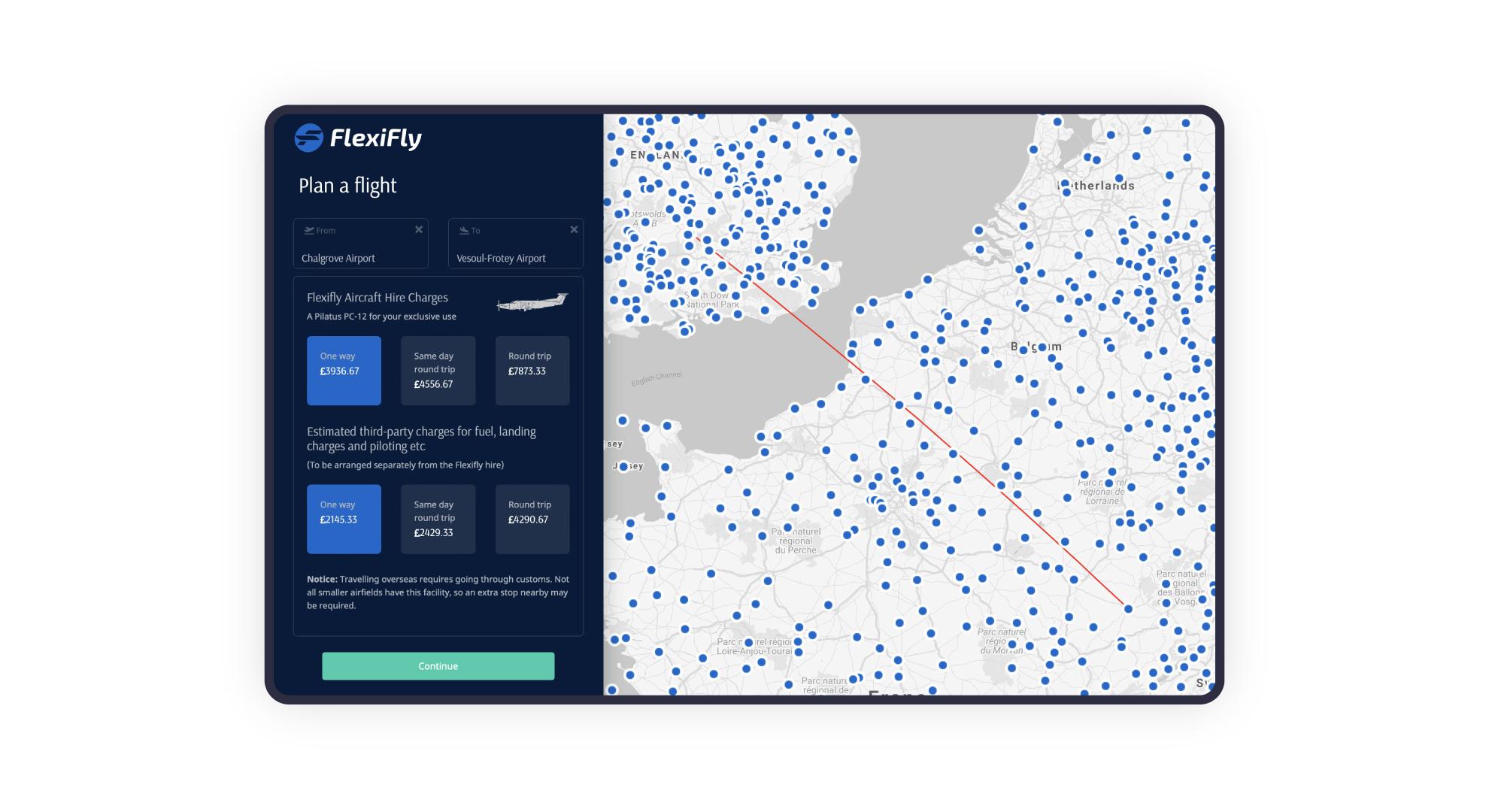 Flexifly flight booking system