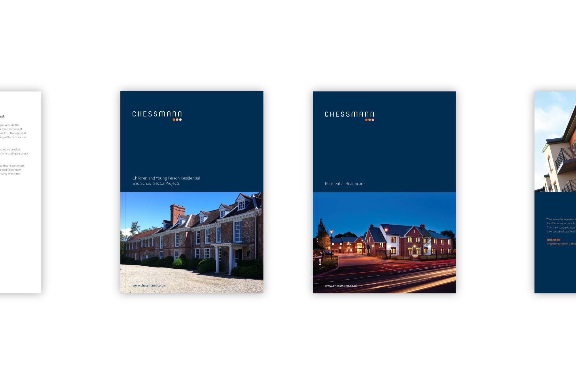 Chessmann brochure design