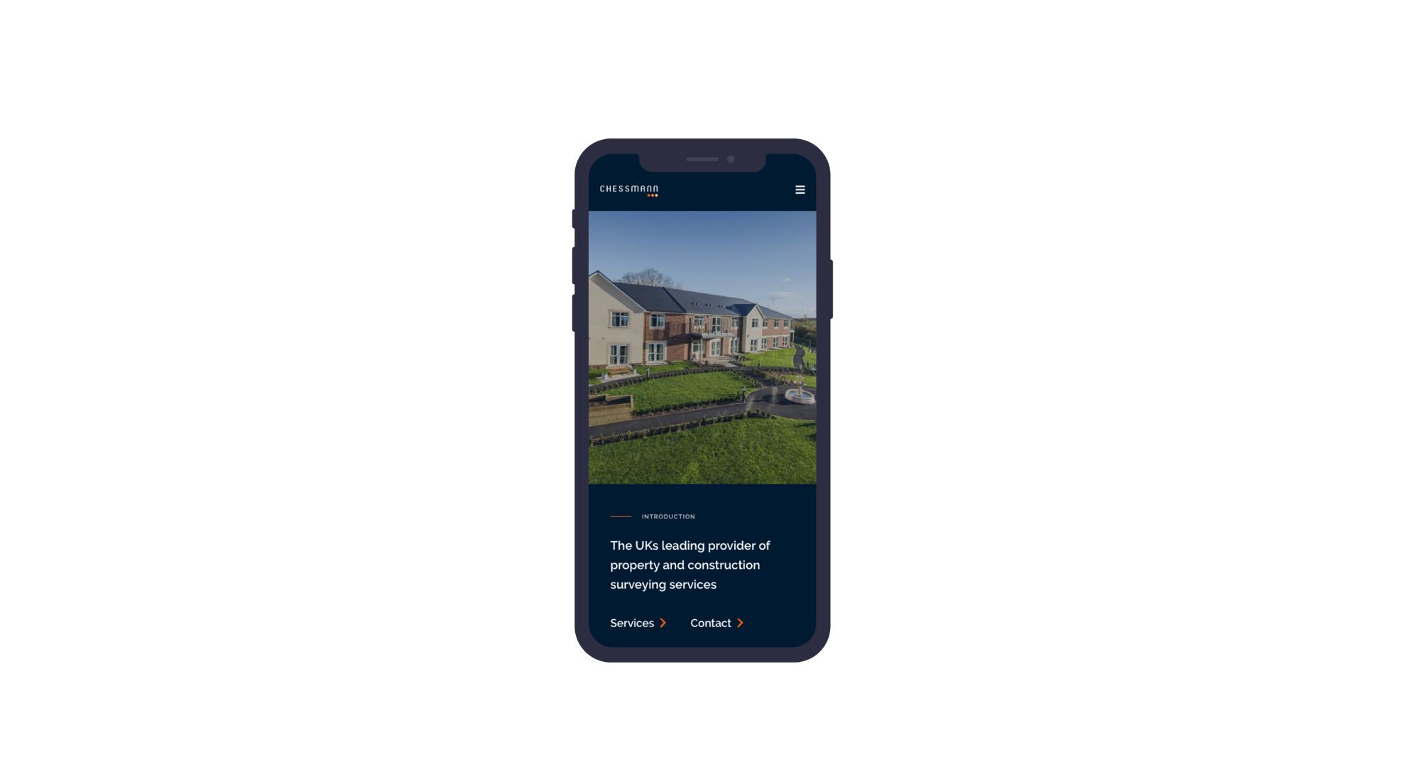 Chessmann mobile first web design